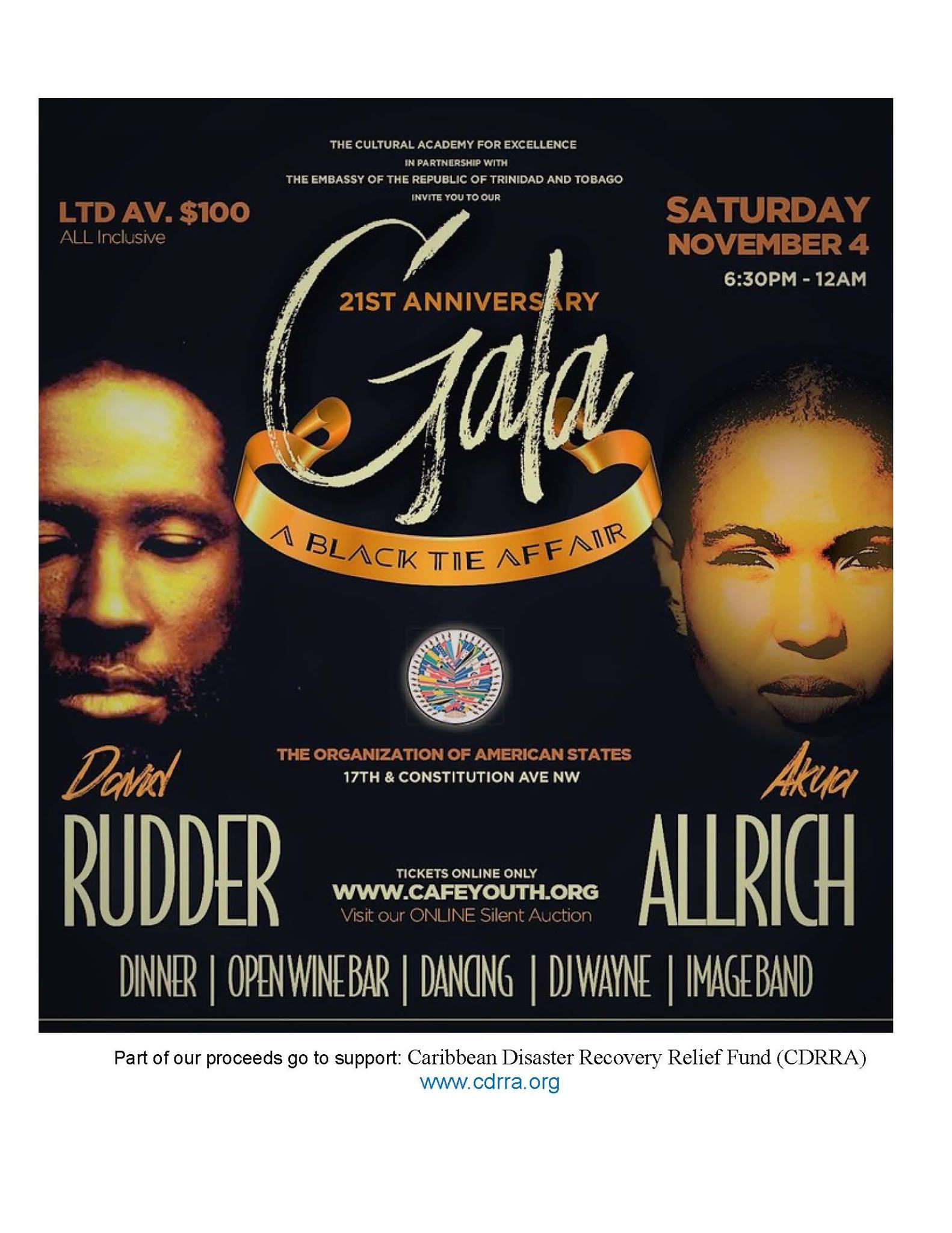 cb2ec75cf Akua   The Tribe   CAFE s 21st Anniversary Gala  A Black Tie Affair SAT nov  4